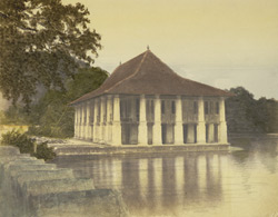 The late King's Palace (now library), Kandy.